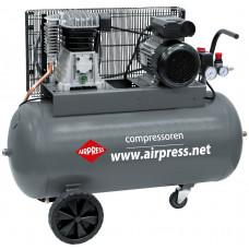 Компрессор поршневой Airpress HL 375-100, 375 л/мин. 2.2 кВт, 220 В.